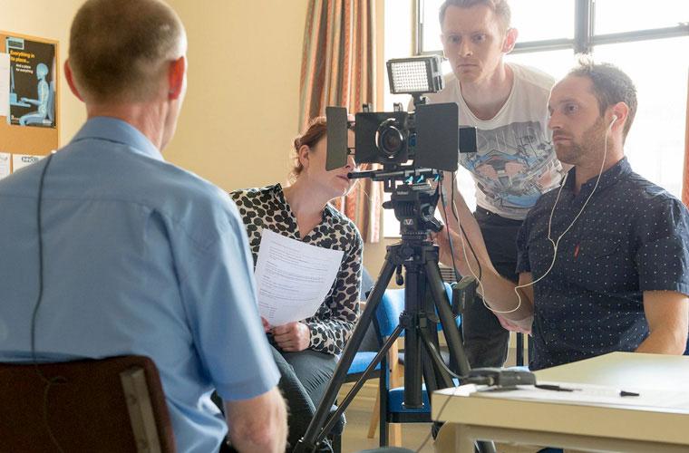 NHS video shoot