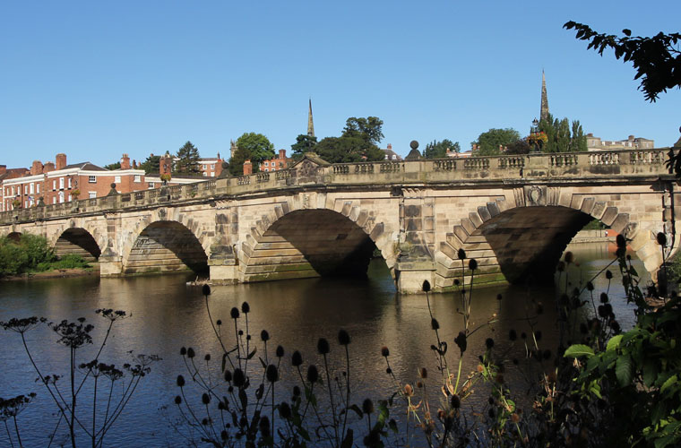 The English Bridge, Shrewsbury