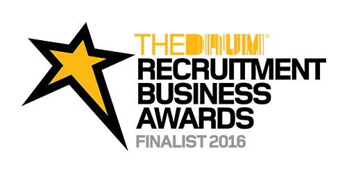 The Drum Recruitment Business Awards Finalist logo