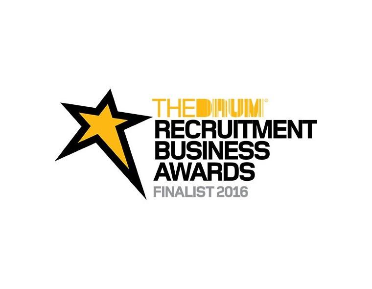 The Drum Recruitment Business Awards Finalist logo