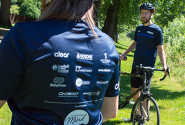 Thank you to our corporate sponsors. Your logos will be with us every step (or pedal) of the way!