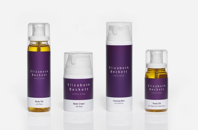 Elizabeth Beckett branding and packaging